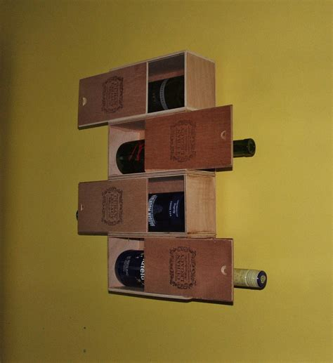 Cuban Home Decor cuban cigar box wine rack recycled and by designsbysaralane