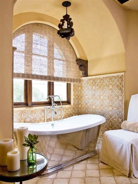 spanish bathroom design spanish style abounds in this master bathroom retreat from