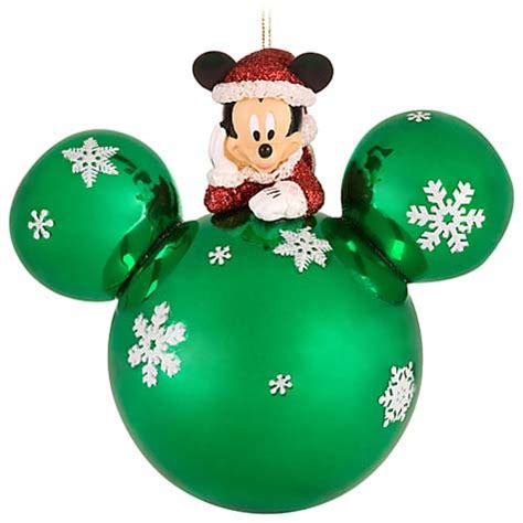 your wdw store disney christmas ornament santa mickey