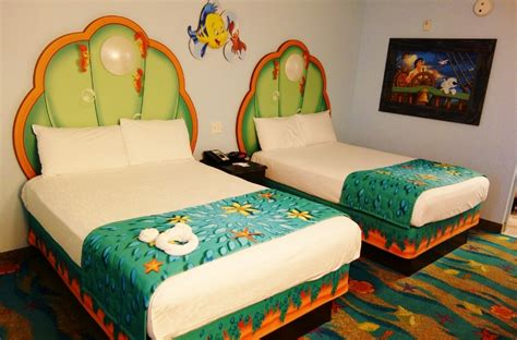 Art Of Animation Family Suite Floor Plan Review The Little Mermaid Area And Rooms At Disney S Art