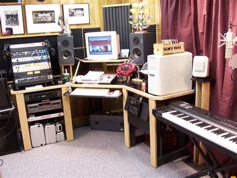 diy home studio desk studio furniture