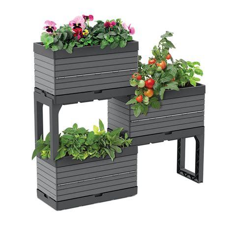 garant botanica modular garden  planters   legs kit
