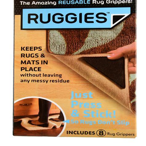Grip Anti Slip Untuk Karpet 4pcs new 4pcs ruggies rug carpet mat grippers non slip grip corners pad anti skid reusable silicone