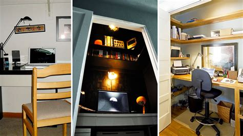 Turn Your Closet Into An Office by How Can I Turn Closet Into An Office Hacker India