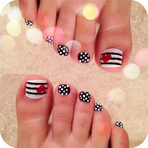 25 best ideas about easy toenail designs on