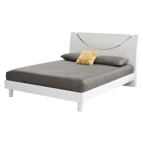 White King Platform Bed White King Platform Bed El Dorado Furniture