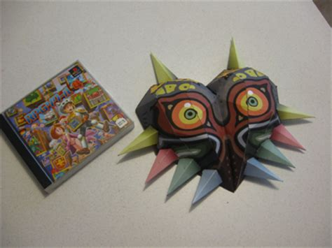 majora s mask papercraft by lantis02 on deviantart