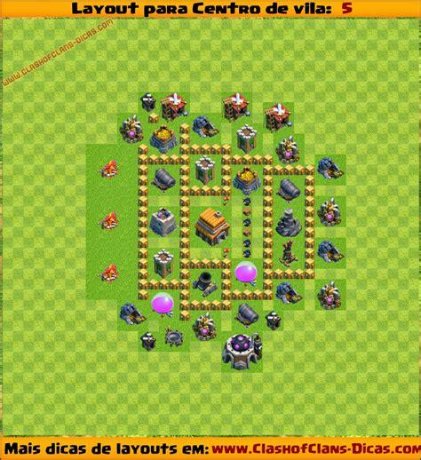 layout hibrido cv 5 layouts para centro de vila 5 para clash of clans clash
