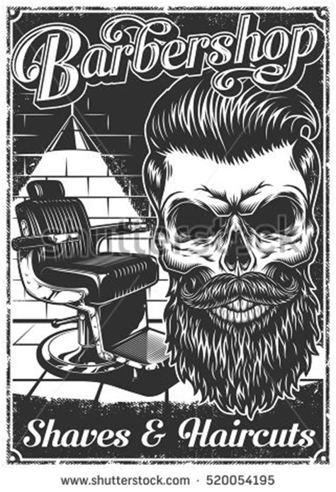 Poster Beard Barbershop Quotes Skull 1 iconswebsite icons website search icons icon set