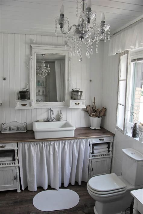 chic bathroom decorating ideas 15 lovely shabby chic bathroom decor ideas style motivation