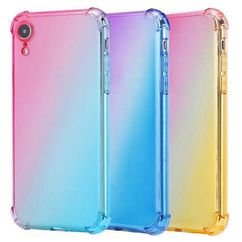 etmakit rainbow gradient phone case  iphonexs case