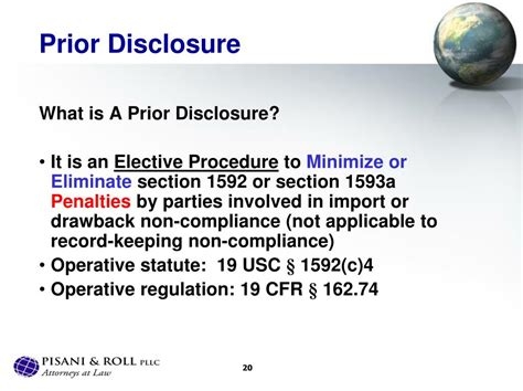 section 74 drawback ppt informed compliance customs penalties