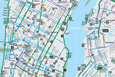 nyc bike map maps nyc releases new 2016 bike map untapped cities
