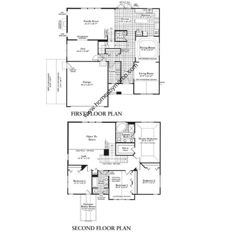 clearwater floor plan clearwater model in the neuhaven subdivision in antioch illinois homes by marco