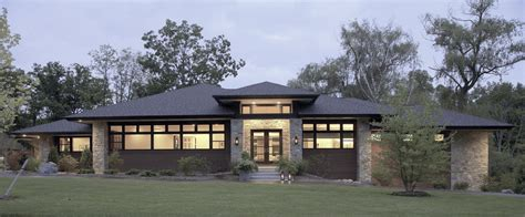 contemporary prairie style house plans prairie style floor plans prairie style house plans