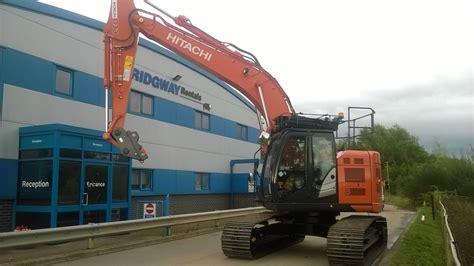 hitachi zero tail swing excavator new hitachi zx 225 uslc 6 zero tail swing excavators