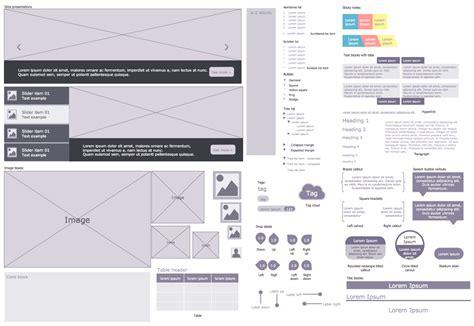 website wireframe solution conceptdraw
