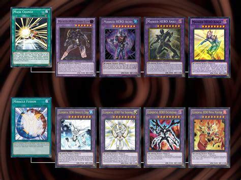 elemental deck how to build an elemental yu gi oh gx deck 7 steps