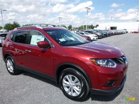 red nissan rogue 2016 cayenne red nissan rogue s awd 115067890 photo 6
