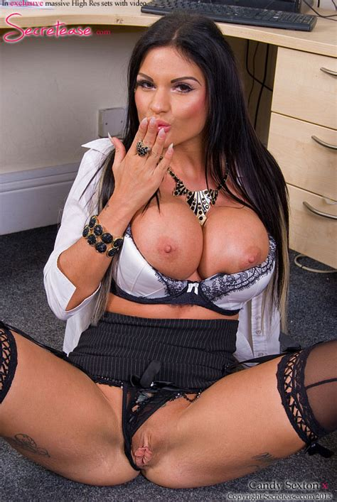 Pinkfineart Secretary Candy Sexton From Secretease