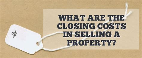 who pays closing costs when selling a home 28 images