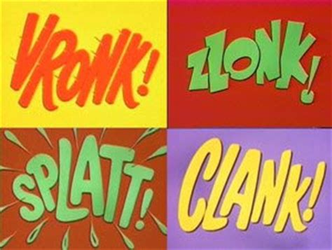 batman tv series sound effects a catablog of doggerel exles of onomatopoeia poetry