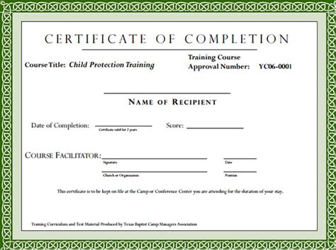 training certificate format  printable receipt template
