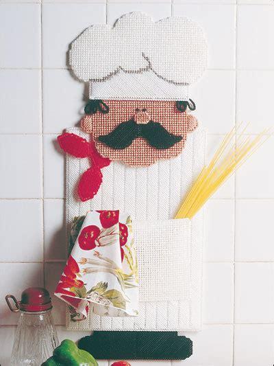 Chef Door by Plastic Canvas Wall Door Hanging Patterns Other