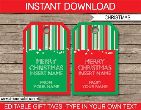 printable gift tags for christmas editable christmas gift tags template printable christmas gift tags