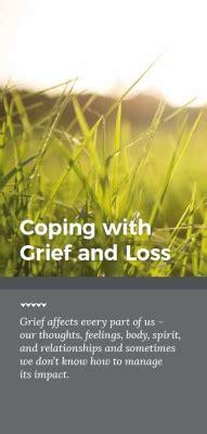 coping  grief  loss community public health