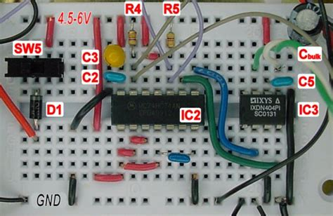 breadboard circuit breadboard basics freecircuits