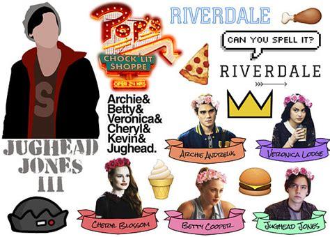 Wall Stickers Etsy riverdale stickers on the a4 sheet jughead jones betty