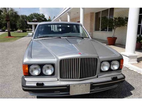 bentley turbo r for sale 1990 bentley turbo r for sale classiccars com cc 872558