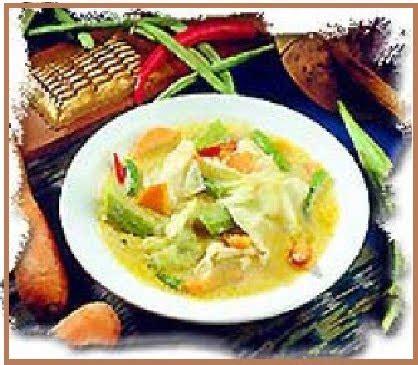 sayur lodeh bumbu kuning menu masakan ibu
