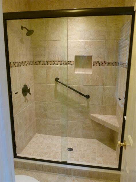 Rubbed Bronze Shower Doors by Glass Rubbed Bronze Shower Doors Useful Reviews Of