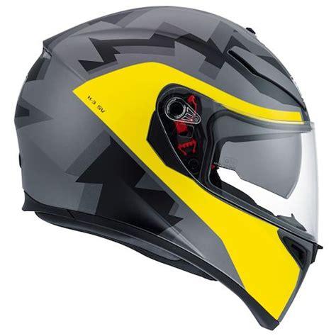 Helm Agv Seleb 8 Yellow agv k3 sv camodaz helmet revzilla