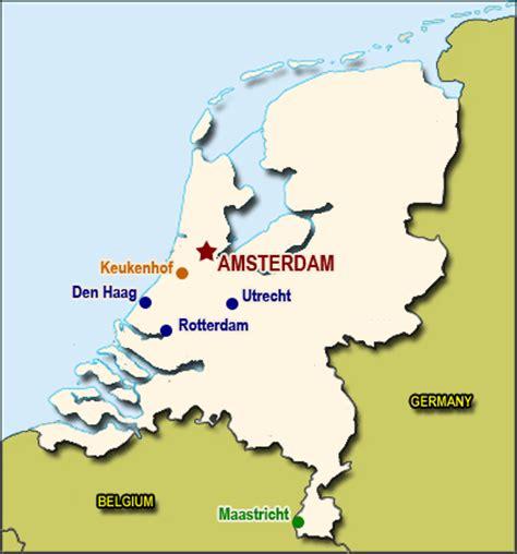 hague netherlands on map netherlands