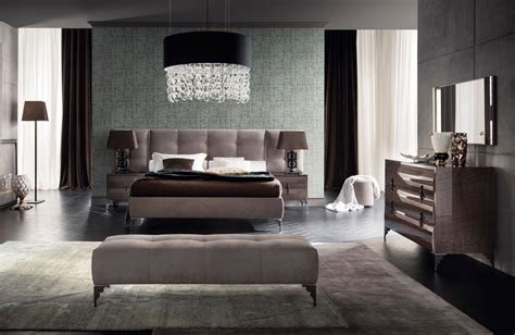 moderne schlafzimmer set made in italy leather contemporary master bedroom designs