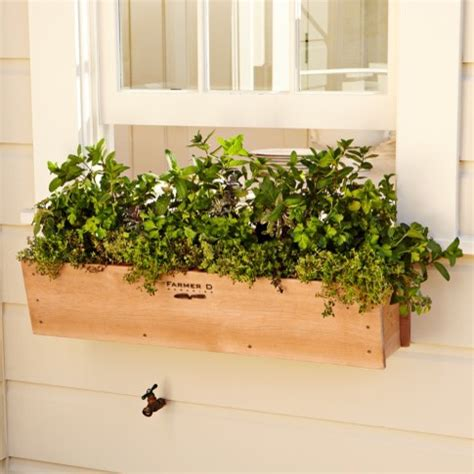 outdoor window box cedar window box traditional outdoor pots and planters