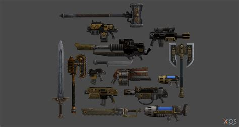 Helicopter Chair Xps Release Space Marines Weapon Pack By Merytaten