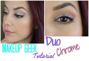 new makeup geek duochrome pigment tutorial youtube
