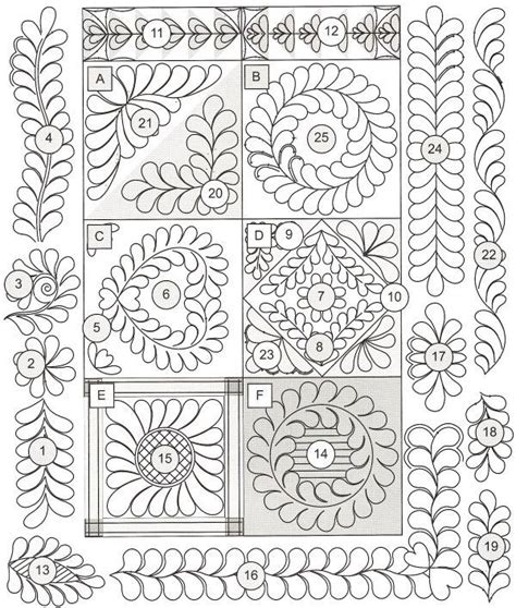 Quilting Border Designs Free by Patterns Free Motion Quilting Patterns Quilting Quilting Patterns And Patterns
