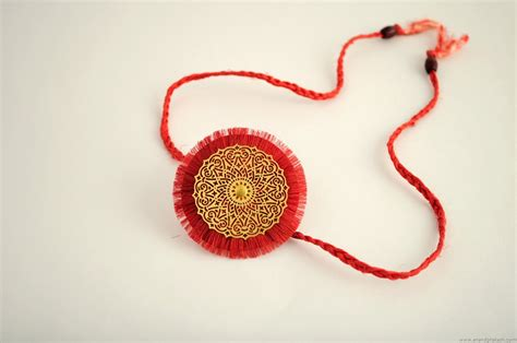 How To Make A Handmade Rakhi - how to make made rakhi step by step india location