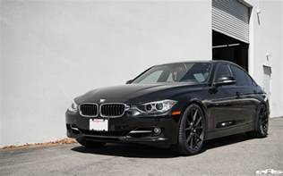 Bmw 328 I Black Sapphire Metallic Bmw 328i Gets Vorsteiner V Ff 106