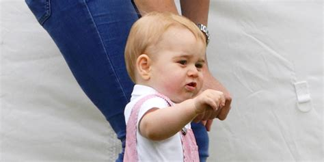 Georges Overall prince george finally convinces everyone that overalls are