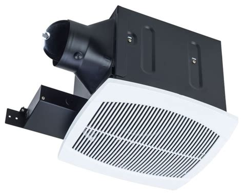 ultra quiet bathroom fan shop houzz miseno mbf080 white 80 cfm ceiling mounted
