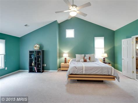 Carpet Ceiling by Modern Master Bedroom With Carpet Ceiling Fan In Reston