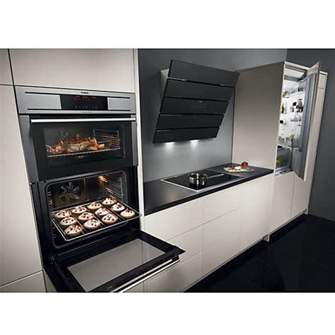 designer kitchen extractor fans aeg x66453bv0 stylish angled 60cm black glass designer