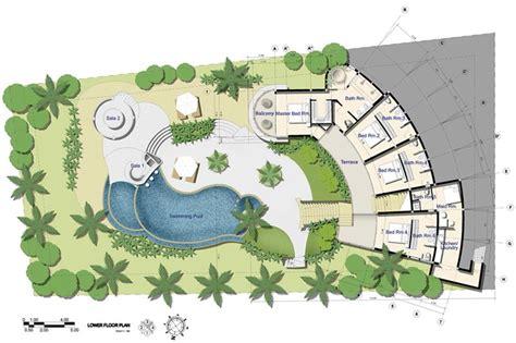 holiday house floor plans samui holiday homes villa kya floor plans koh samui