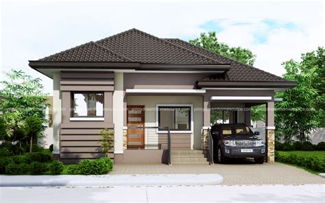 one story small house plans one story small home plan with one car garage house plans